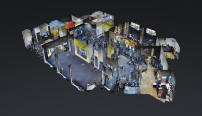 18GYM Cluj 3D Model