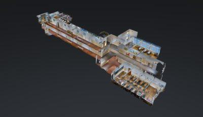 "Scoala ""Octavian Goga"" 3D Model"